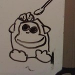 Whiteboard Munky (Brained)